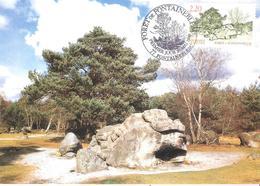 Seine Et Marne :- FONTAINEBLEAU  FORET 20 MAI 1989 Carte Maximum - Matasellos Conmemorativos