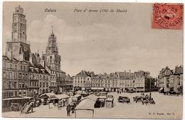 Calais : Place D'Armes, Du Côté Du Musée (Edit. V.P. Paris, N°7) - Calais