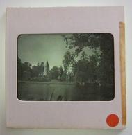 Plaque De Verre Positive Sous Carton - Fontenay Trésigny - Château Du Vivier - Glass Slides