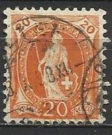 Svizzera Lotto N.A 37 Anno 1882-1904 Yvert N.71 Usato - Oblitérés