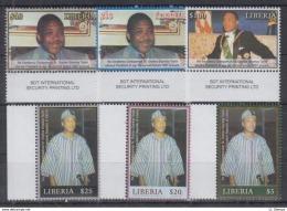Z13. Liberia - MNH - Famous People - Célébrités