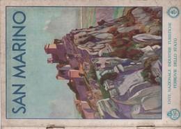 Italie/SAN MARINO/Ente Nazionale Industrie Turistiche Ferrovie Dello Stato//La ROCCA/PALAIS/CATHEDRALE/1933  PGC172 - Tourism Brochures