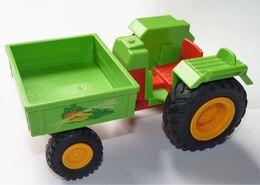 PLAYMOBIL GEOBRA 1999 TRACTEUR TRANSPORT LEGUMES - Playmobil