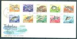 TOKELAU - 5.12.1984 - FDC -  FISH  ISSUE - Mi 96-100 Yv 108-117 - Lot 16768 - Tokelau