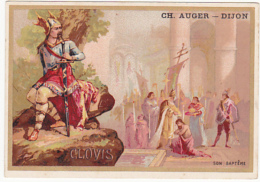 Chromo - Fabrique De Pain D'épices, Ch. Augier - Clovis, Son Baptême - Autres