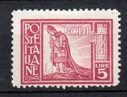Egeo 1929 Pittorica N.10  Dent. 11 Nuovo MLH* Sassone 130 Euro; - Ägäis
