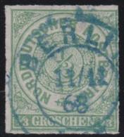 Nord   .     Michel    .    2    .       O     .     Gebraucht - Norddeutscher Postbezirk