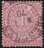Nord   .     Michel    .   16    .       O     .     Gebraucht - Norddeutscher Postbezirk