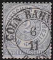 Nord   .     Michel    .   17       .       O     .     Gebraucht - Norddeutscher Postbezirk