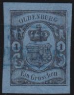 Oldenburg    .     Michel    .    6     .       O     .     Gebraucht - Oldenburg