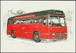 Midland Red C5 Bus - Golden Era Postcard - Buses & Coaches
