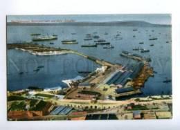 144670 GIBRALTAR Waterport Gate & Mole Vintage Postcard - Gibraltar