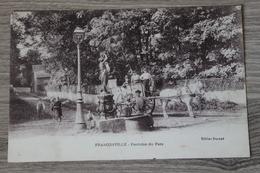 FRACONVILLE (95) - FONTAINE DU PARC - Franconville