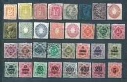 Allemagne Beau Petit Lot D'anciens Etats Neufs Et Oblitérés Bonne Cote - Collections