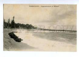 144687 Madagascar Toamasina TAMATAVE View Vintage Postcard - Madagascar
