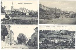 4 CPA Miribel - Les Balmes, église, Coteau     ( S. 2878 ) - France