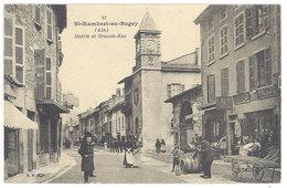 Cpa Saint Rambert En Bugey - Mairie Et Grande Rue  ( S. 2880 ) - France