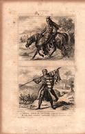 Angleterre - Thomas, Comte De Leicester - Règne D'Edouard II - Sir John Sitsylt, Chevalier - Règne D'Edouard III - Prints & Engravings