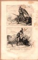 Angleterre - Sir Roger - Chef De Clan Ecossais - Règne D'Edouard 1er - Prints & Engravings
