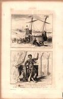 Angleterre - Vaisseau - Règne D'Henry III - Fou Ou Bouffon - Règne D'Edouard 1er - Prints & Engravings