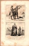 Angleterre - Soldats - Comtesse De Lancastre - Règne D'Henry III - Estampes & Gravures