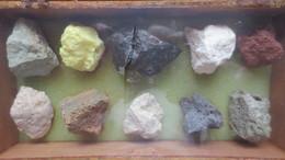 LAVE DU PIC DU TEIDE (CANARIES) 4 SCANS - Minerals