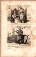 Angleterre - Sir Hugues Bardolphe - Alberic Comte D'Oxford - La Comtesse D'Oxford - Prints & Engravings