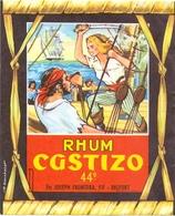 Etiket Etiquette - Rhum - Castizo - Belfort - Rhum
