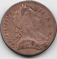 Grande Bretagne - Farthing - 1773 - 1662-1816 : Antiche Coniature Fine XVII° - Inizio XIX° S.