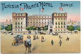 TUNIS - Tunisia Palace Hôtel, Tout 1er Ordre - Lehnert & Landrock - Túnez