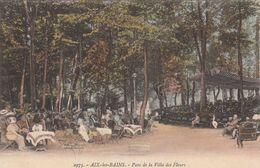 Cp , 73 , AIX-les-BAINS , Parc De La Villa Des Fleurs - Aix Les Bains