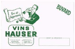 BUVARD Vins HAUSER CHARENTON - PARIS - Liquor & Beer