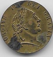 Grande Bretagne - Georges III - 1791 - 1662-1816 : Anciennes Frappes Fin XVII° - Début XIX° S.