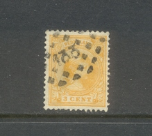 Puntstempel 133 Op Nvph 34 - Periode 1891-1948 (Wilhelmina)