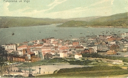 Espagne - Galicia - Vigo - Panorama - Colorisée - 5900 - Spagna