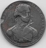 Grande Bretagne - Amiral Nelson - Bataille D' Aboukir 1798 - 1662-1816 : Acuñaciones Antiguas Fin XVII° - Inicio XIX° S.