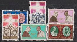 Burundi 1964 Martyrs Africains 6v ** Mnh (38840) - Burundi