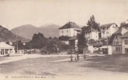 CPA - Sallanches - Et Le Mont Blanc - Sallanches