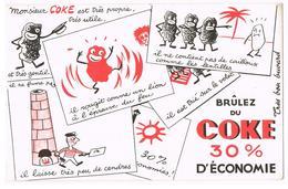 BUVARD COMBUSTIBLES Charbon COKE - Blotters