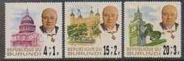 Burundi 1967 Churchill 3v ** Mnh (38840B) - 1962-69: Ongebruikt