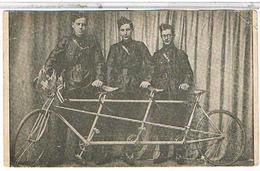 """CYCLISME   SOUVENIR A TROIS  """"SPORTSMEM""""  THECQUES AUTOUR DU MONDE EN 3 ANS     1J947 - Cycling"""