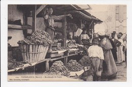 CPA MAROC CASABLANCA Marchands De Fruits - Casablanca