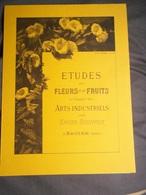 Lithographie De Gebert Et Veigel 1894  Retirage  X. Bronner Fleurs Et Fruits Haguenau Expo Sarreguemines 1982 - Non Classificati