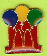 Pin's Mac Do McDonald's Happy Birthday Ballons - 2I07 - McDonald's