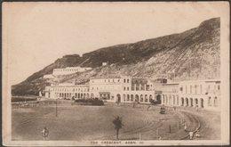 The Crescent, Aden, C.1920 - Pallonjee, Dinshaw & Co Postcard - Yemen