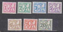 Belgie 1966 Stafport OCB TX66/TX72 7w ** Mnh (38841) - Impuestos
