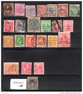 NOUVELLE ZELANDE - Petit Lot D'oblitérés - Années 1863 à 1900 - - Used Stamps