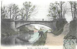 93 SEVRAN Pont Du Canal  Colorisé  Pêcheur - Sevran