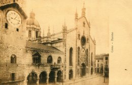 ITALY - Lake Como - Duoma - Superb Postmarks Etc 1912 - Como