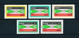 Sudán  Nº Yvert  393/7  En Nuevo - Sudan (1954-...)